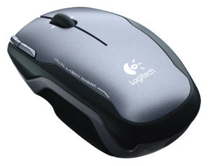 Logitech myš Laser Cordless Notebook V400, USB